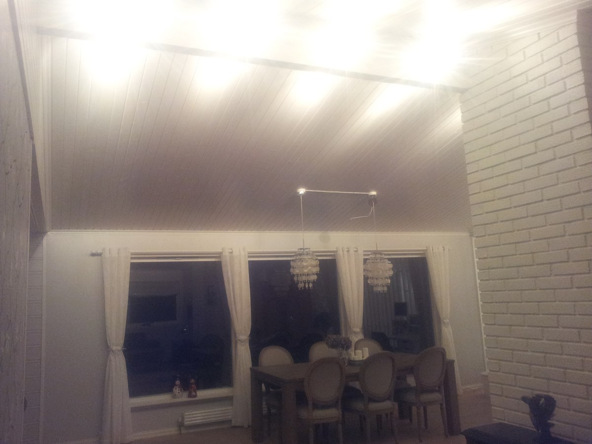 Groovy Lyskilde til skråtak i stue - ByggeBolig OJ-07